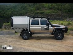 Norweld Aluminium Ute Trays and Aluminium Canopies. One piece fully welded floor. Optional extras available to customise your ride. Landcruiser 79 Series, Ute Canopy, Ute Trays, 4x4 Off Road, Toyota Trucks, Expedition Vehicle, Toyota Land Cruiser, Rust Free, Flat Bed
