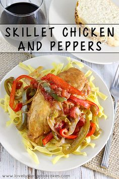Skillet Chicken and Peppers - a delicious and easy weeknight meal idea. #StarOliveOil #chicken #shop #CollectiveBias by lovebakesgoodcakes, via Flickr