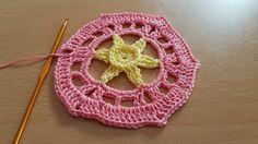 Crocheted flower 52