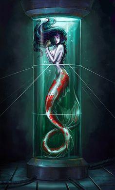 Exotic Mermaid Art | Ábrete libro!! - Foro sobre libros y autores