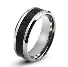 Amazon.com: tungsten - Rings / Jewelry: Clothing, Shoes & Jewelry