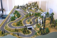 >>Find more information on performance cars. Check the webpage for more info~~~~~~ The web presence is worth checking out. Slot Car Race Track, Ho Slot Cars, Slot Car Racing, Slot Car Tracks, Can Am Spyder, Scalextric Track, Carrera Slot Cars, Le Mans, Dioramas
