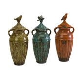 Found it at Wayfair - Abrielle Ceramic Lidded Jar (Set of 3)