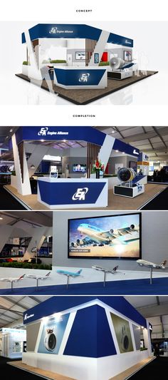 RTH took all the high quality finishes and materials from a hospitality chalet and applied them to Engine Alliance's stand. Considered design ensured AV elements including touchscreens, route maps and videos were clearly displayed alongside engine models.