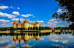 Schloss Moritzburg. Sachsen