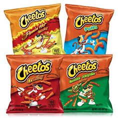 Cheetos Cheese Flavored Snacks Variety Pack 1 Oz Each, 40 Count Cheetos Cheese Ball, Cheese Snacks, Cheetos Flavors, Cheetos Crunchy, Fish Recipes, Gourmet Recipes, Snack Recipes, Breaded Fish Recipe, Jalapeno Cheddar