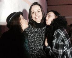 Las chicas Susana, Paz y Carmina