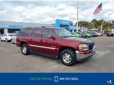 2002 GMC Yukon XL 1500  SUV Call for Price  miles 904-507-0626 Transmission: Automatic  #GMC #Yukon XL 1500 #used #cars #NimnichtChevrolet #Jacksonville #FL #tapcars