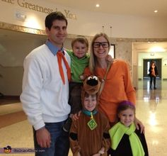 The Scooby-Doo Gang - 2013 Halloween Costume Contest via @costumeworks