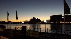 Sunrise At The Sydney Opera House preparing for The Real Insurance 10 km's Run