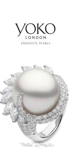 Regilla ⚜ Una Fiorentina in California #jewels #luxury #pearls #diamonds #rings