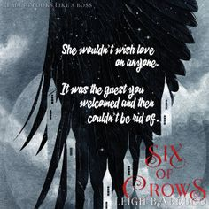 Six of Crows by Leigh Bardugo Ya Books, Good Books, Reading Books, Books To Read, Book Tv, Book Nerd, Book Series, Ya Book Quotes, Crooked Kingdom
