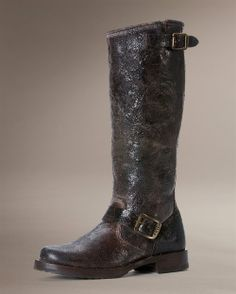 I Love, Love these boots because the more I destroy them...the better they look!!!!