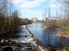Finland, Oulu Oulujoki