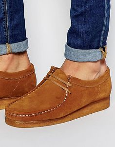 Clarks Original Wallabee Suede Shoes