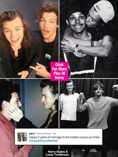 Larry shippers, today is a very special day! 2 years ago on September 28, fans speculated that Harry Styles and Louis Tomlinson got married after hints appeared in a series of suspicious tweets! Fans are obviously celebrating the supposed anniversary -- see their tweets!
