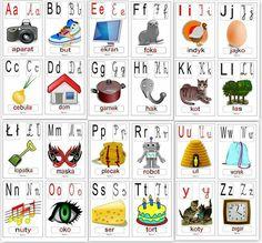 Learn Polish, Polish Language, Diy For Kids, Poland, Alphabet, Education, Learning, School, Crafts