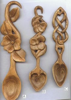 Traditional Welsh Love Spoons. Part of my heritage, my grandma was from Swansea Whales. I hope I'll have one someday even if its only in a tattoo lol!