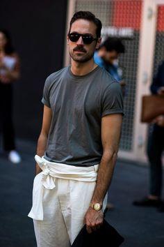 Milan Men's Fashion Week Spring 2017 Street Style (24)