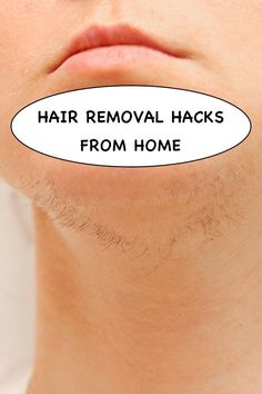 Natural Facial Hair Removal, Baby Clothes Sizes, Short Hair With Layers, Hair Skin Nails, Unwanted Hair, Home Remedies, Natural Remedies, Mind Body Soul, Face Hair
