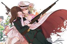 Viktoriya Ivanovna Serebryakov, Tanya Degurechaff, Youjo Senki, anime girls wallpaper