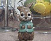 Ceramic Bunny Rabbit figurine