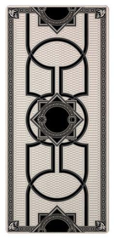 Tarot Cards on Behance Carpet Design, Floor Design, Tile Design, Floor Patterns, Tile Patterns, Textures Patterns, Marble Pattern, Pattern Art, Art Decor