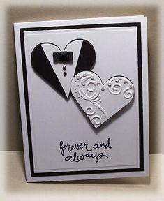 bridal shower - Homemade Cards, Rubber Stamp Art, & Paper Crafts - Splitcoaststampers.com #cardcraft