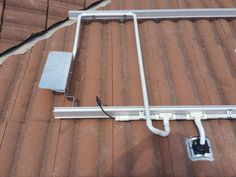 Solar PV cabling system using air tight glands and side accessible isolator bracket.