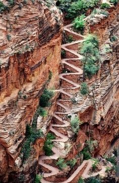 Zigzag Trail in Utah