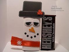 Christmas Candy Bar Wrappers... penguins, snowmen, Santa Claus,reindeer etc