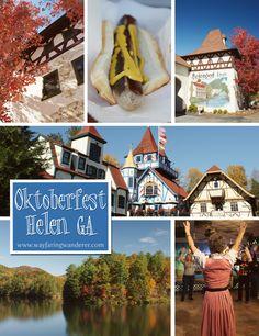 How to Celebrate Oktoberfest in Helen, GA #travel