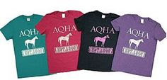 Go ahead - get one in every color. #aqha #aqhaproud #tees #tshirt #horses #ootd #spring