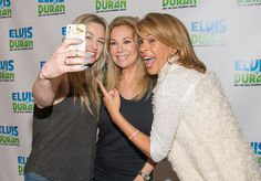 "Kathie Lee Gifford and Hoda Kotb Visit ""The Elvis Duran Z100 Morning Show"""