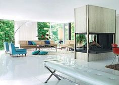 When mid-century enthusiasts Todd Goddard and Andrew Mandolene purchased a beautiful but derelict rectilinear home in Armonk, New York they sought an authentic renovation. Fittingly, they employed architect Arthur Witthoefft to spearhead the project, who had built the home for himself in 1957.