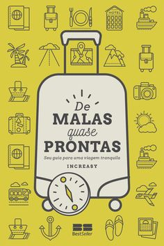 Brazilian book cover design: Pack is (almost) done  Travel non-fiction  Design by Marina Avila