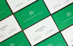 The Katie Boyce Company Identity and Collateral