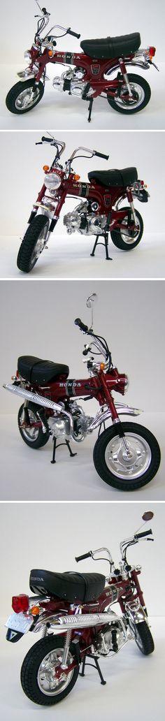 Dax - Honda CT70 Motos Honda, Honda Bikes, Honda Motorcycles, Scooter Motorcycle, Scrambler Motorcycle, Small Motorcycles, Vintage Motorcycles, Vespa, Motocross