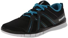 Reebok Mens Zmove TR Training Shoe BlackEnglish EmeraldSteel 105 M US >>> Want additional info? Click on the image.