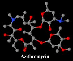 Azithromycin (Zithromax) Molecule