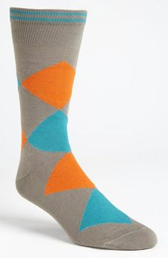 Lorenzo Uomo Argyle Socks (3 for $27) | Nordstrom