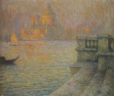 Henri Le Sidaner Venice in the Afternoon hand embellished reproduction on canvas by artist Paintings I Love, Beautiful Paintings, Wood Paintings, Henri Matisse, Maurice Denis, Icelandic Artists, Post Impressionism, Vintage Artwork, French Artists