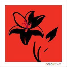 Flower modern