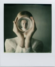 Photography, Polaroid, instant film in People, Portrait, Female, Polaroid 1500, SX-70 Color - Image #541499