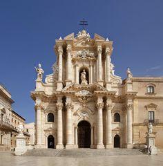 Sicilia - La Piazza del Duomo - La Catedral de Siracusa