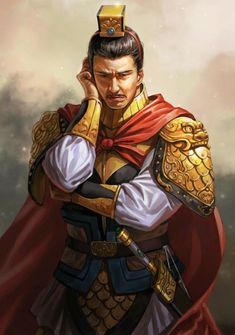 Zhenji's first husband and Yuan Shao's middle son Character Concept, Character Art, Character Design, Character Ideas, Chinese Characters, Fantasy Characters, Conan Rpg, Yue Jin, Samurai
