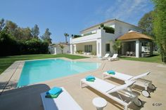 Contemporary Villa For Sale in Casasola, Marbella. Click on pic for more information.