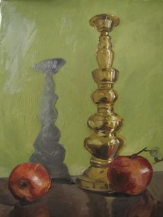 Candlestick Still Life by BizBoston.deviantart.com on @DeviantArt