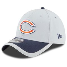 Chicago Bears 39THIRTY 2015 Official Training Flex Fit Hat by New ...
