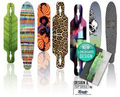 Longboard_Custommade #design #style #surfart #inlay #topsheet